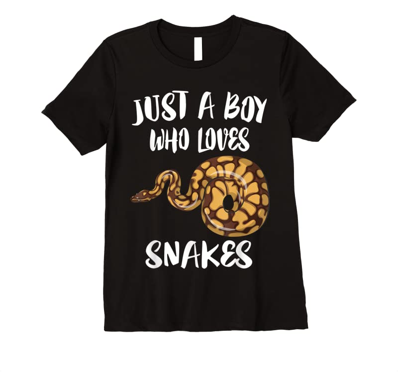 Perfect Just A Boy Who Loves Snakes Animal T Shirts