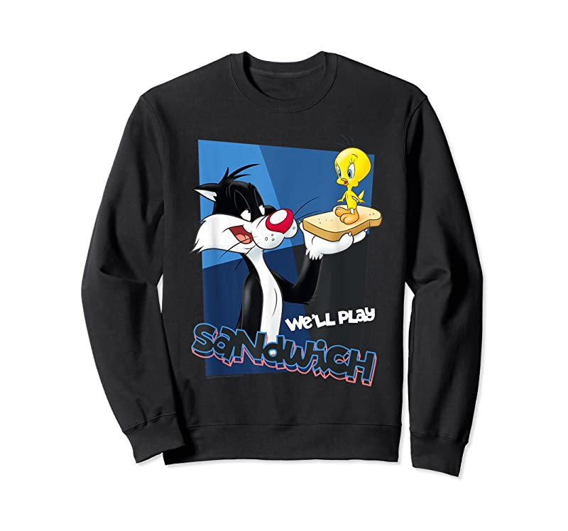 Perfect Looney Tunes Sylvester Tweety Sandwich T Shirts