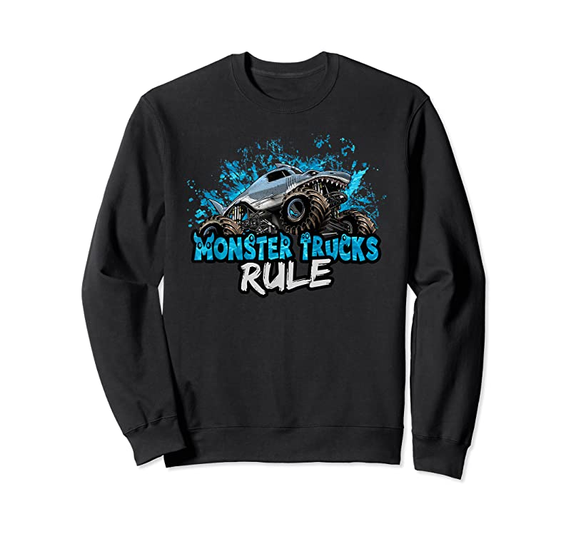 Perfect Monster Trucks Rule T Shirts