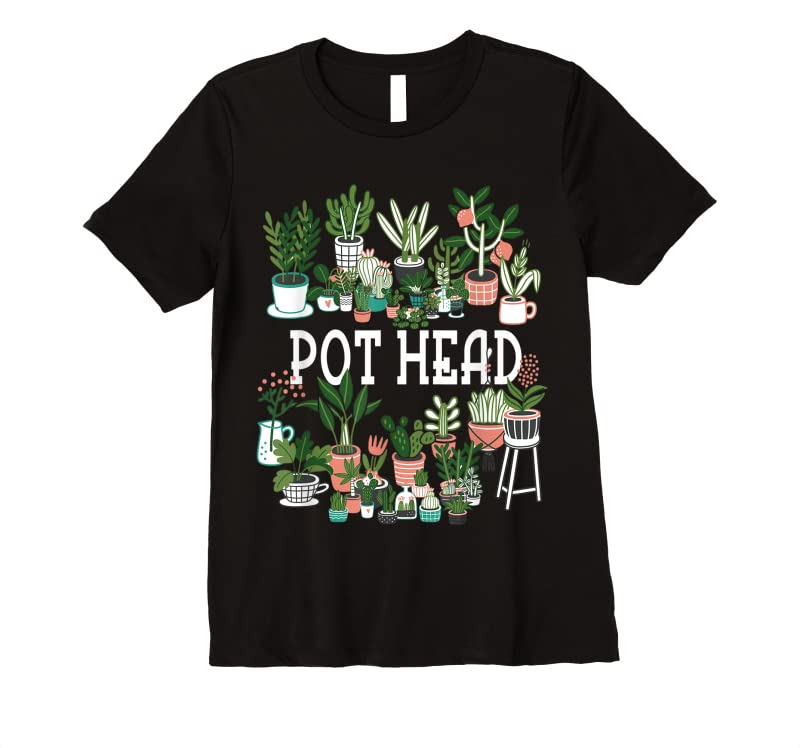 Perfect Plant Lover And Gardener Pot Head Succulent T Shirts