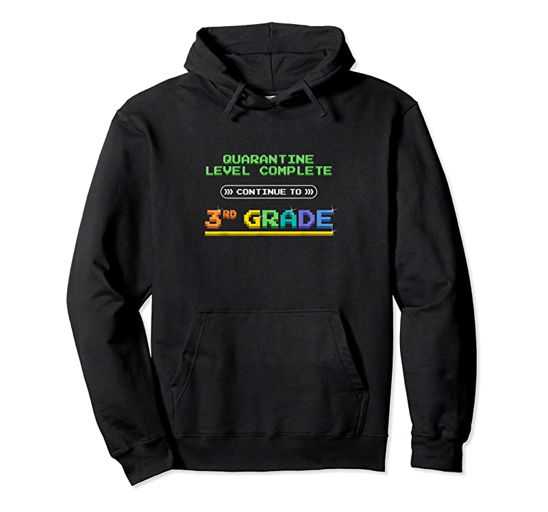Perfect Quarantine Level Complete Back To School 3rd Grade Gamer T Shirts