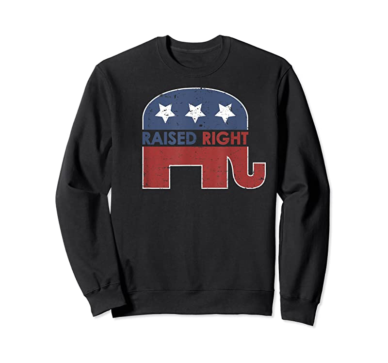 Perfect Raised Right Elephant Pro Trump 2020 Red Vote Gift T Shirts