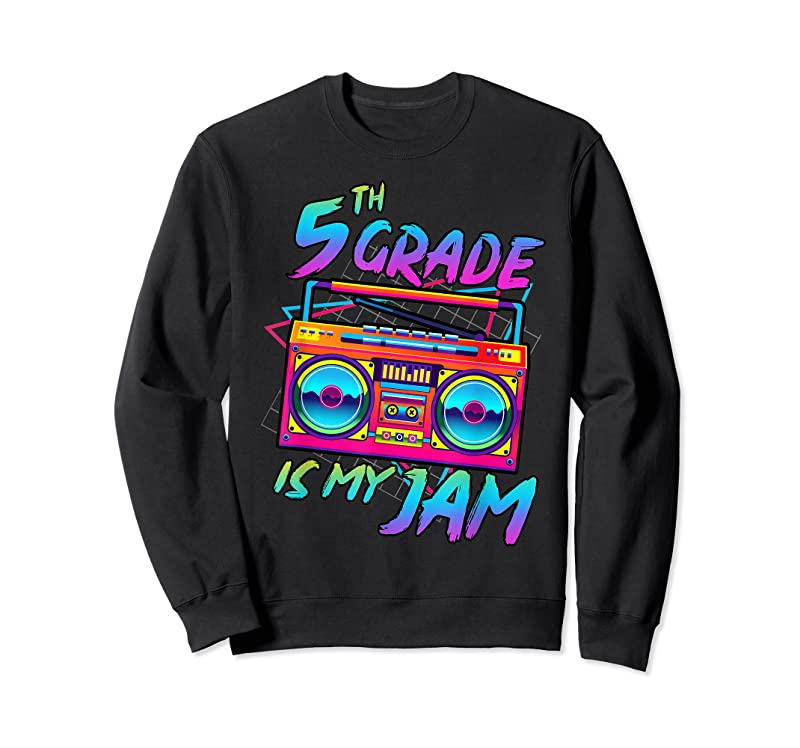 Perfect Retro 80s 5th Grade Is My Jam Back To School Teacher Student T Shirts