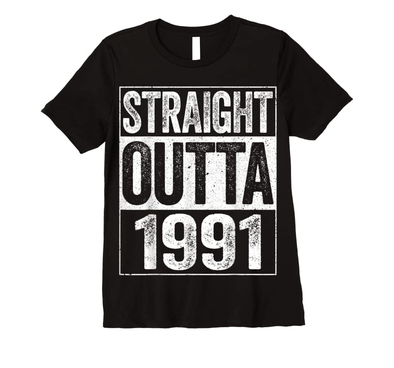 Perfect Straight Outta 1991 30th Birthday Gif T Shirts