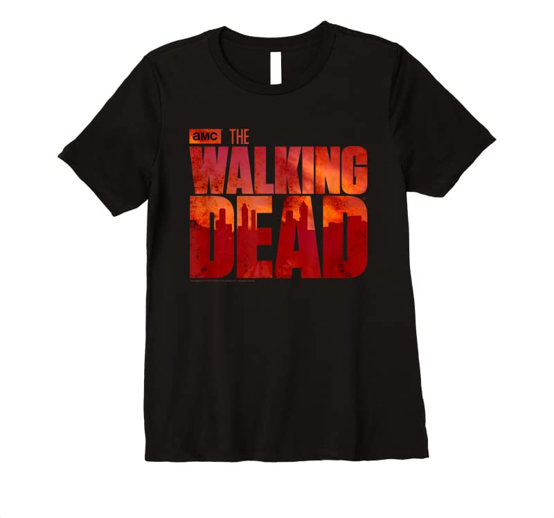 Perfect The Walking Dead Blood Logo T Shirts