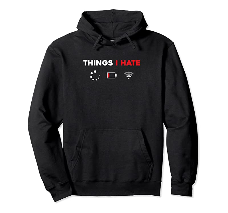 Perfect Things I Hate Programmer Gamer Fun Gift Idea T Shirts