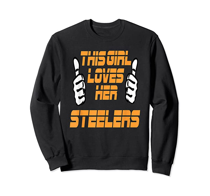 Perfect This Girl Loves Her Steelers T Shirts