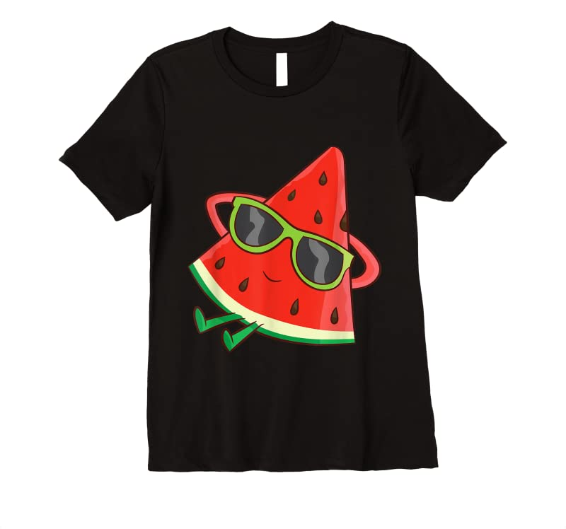 Perfect Watermelon Summer Melon With Sunglasses Funny Watermelon T Shirts