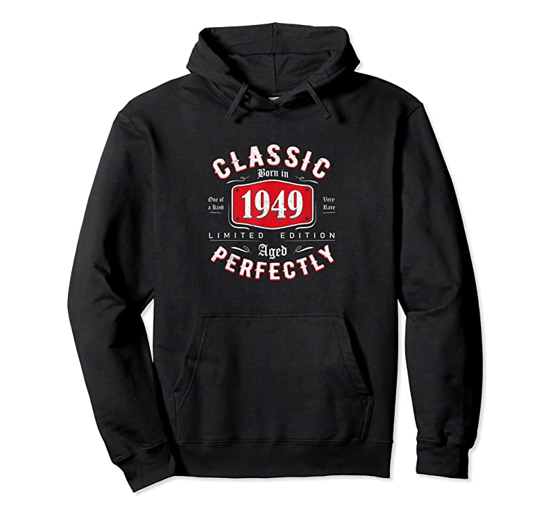 Shop 72th Birthday Gift Idea 72 Years Old Vintage Classic 1949 T Shirts