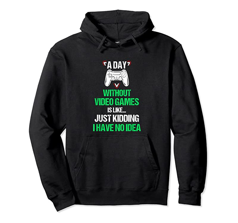 Shop A Day Without Video Games Funny Video Gamer Gift Gaming T Shirts
