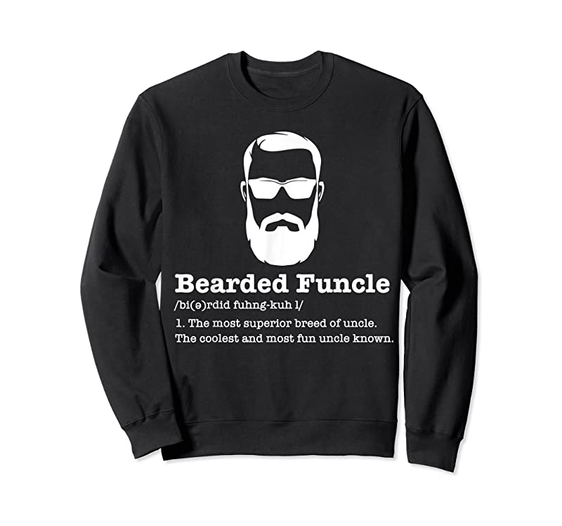 Shop Bearded Funcle Funny Uncle Vintage Style T Shirts