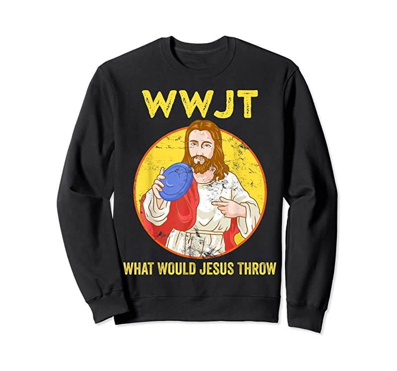 Shop Disc Golf What Would Jesus Throw Frisbee Golf T Shirts