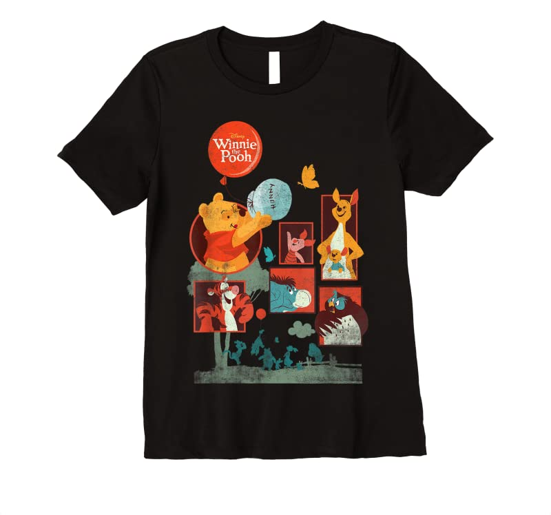 Shop Disney Winnie The Pooh And Friends Panels T Shirts