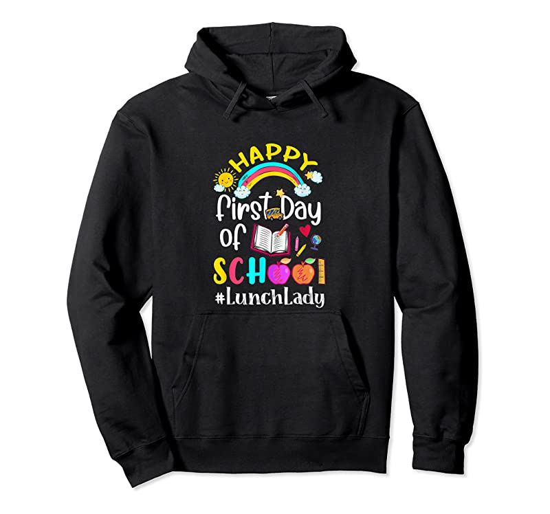 Shop First Day Of School Team Lunch Lady Squad Back To School T Shirts