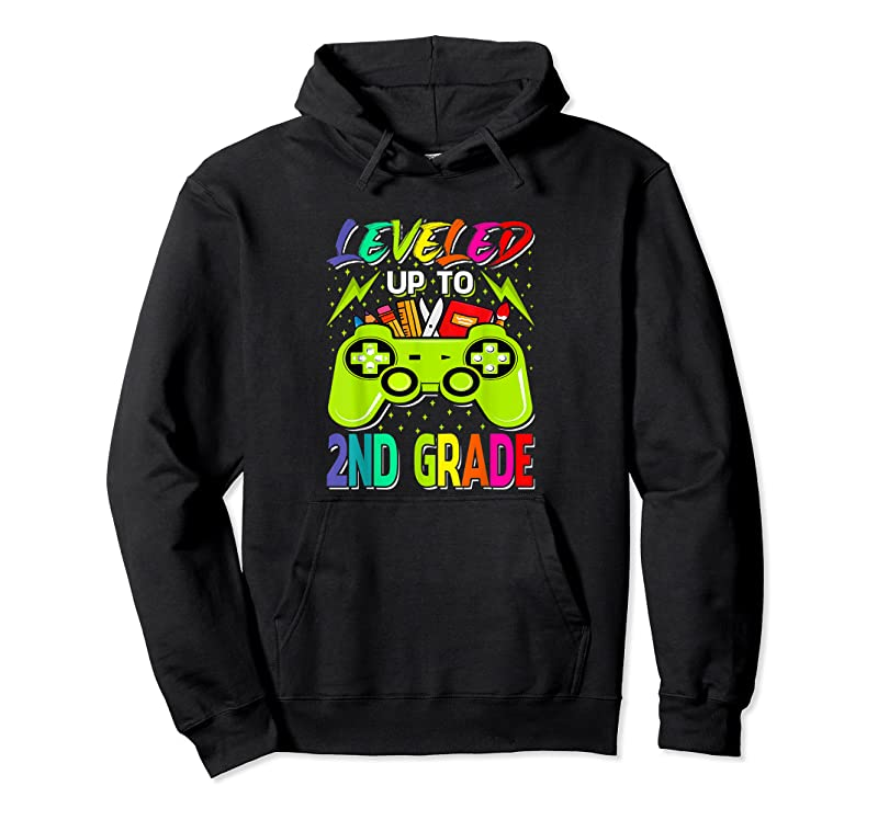 Shop Leveled Up To 2nd Grade Gamer Back To School First Day Boys T Shirts