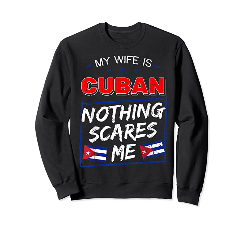 Shop My Wife Is Cuban Republic Of Cuba Heritage Roots Flag Pride T Shirts