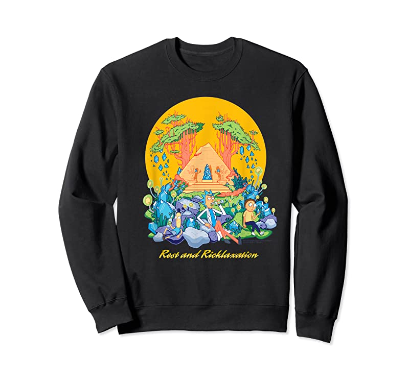 Shop Rick And Morty Rest And Ricklaxation T Shirts