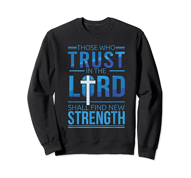 Shop Trust In The Lord Jesus Faith Christian Bible Verse T Shirts
