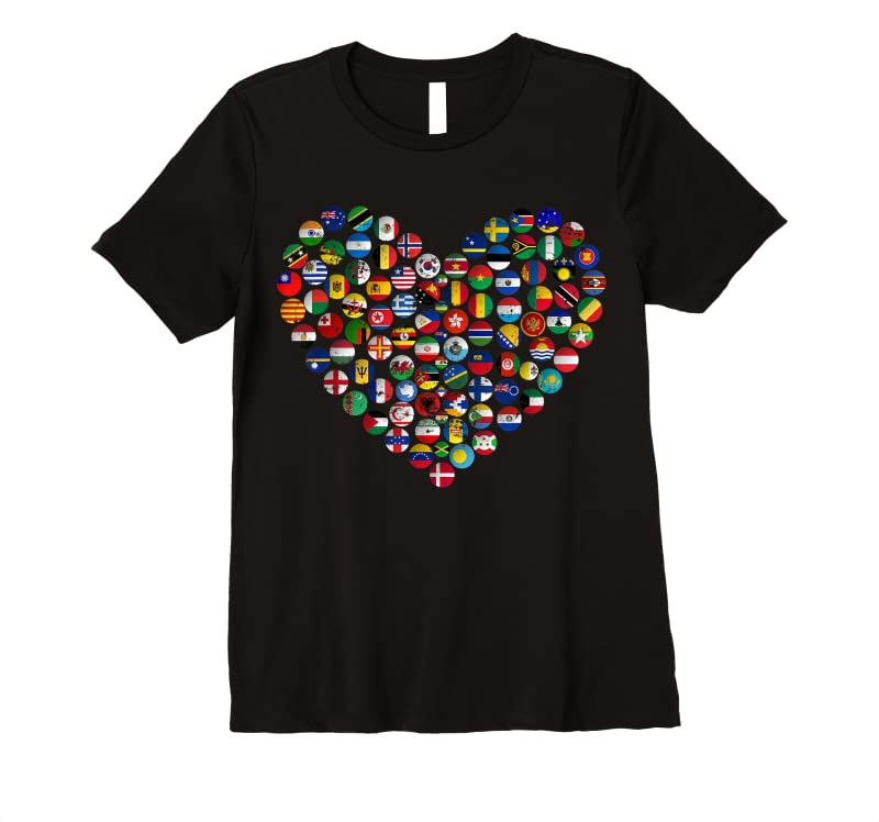 Shop World Flags Earth Day T Shirts