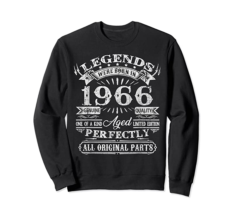 Trending 55 Years Old Gifts Legend Were Born In 1966 55th Birthday T Shirts