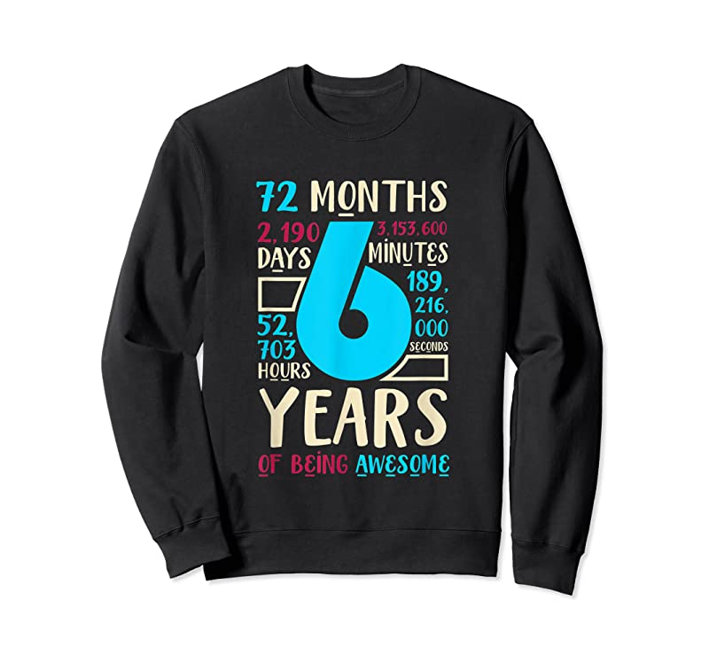 Trending 6th Birthday Gift Son Daughter Age Six 6 Year Old Boys Girls T Shirts