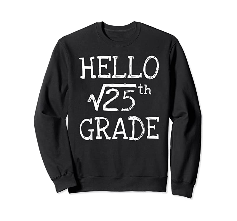 Trending Back To School 5th Grade Square Root Of 25 Math Kids Teacher T Shirts