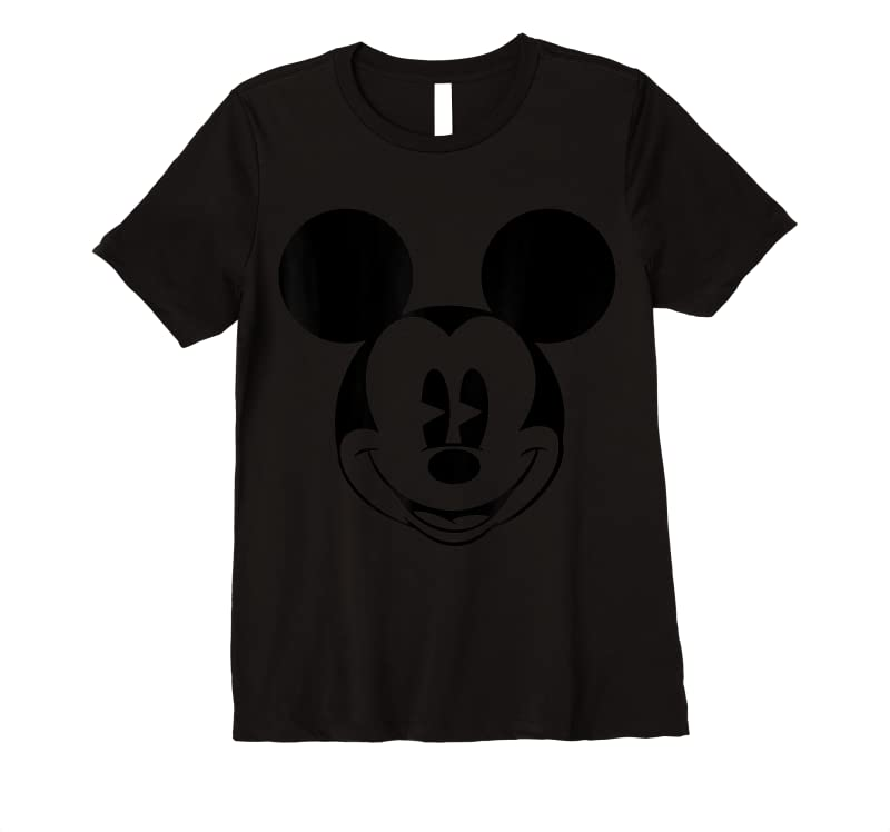 Trending Disney Mickey Mouse Smiling Face Classic Graphic T Shirts
