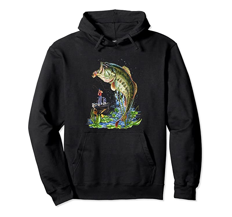 Trending Fishing Graphic Large Mouth Bass Fish T Shirts