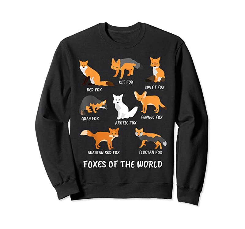 Trending Foxes Of The World Fox Lover T Shirts