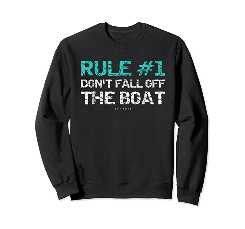Trending Funny Cruise Rule #1 Don't Fall Off The Boa T Shirts