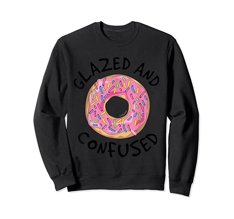 Trending Funny Donut T Glazed And Confused T Shirts