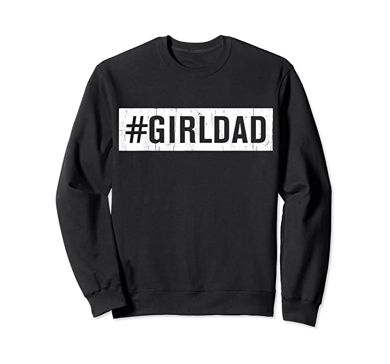 Trending Girl Dad Outnumbered Tee Fathers Day Gift From Wife Daughter T Shirts