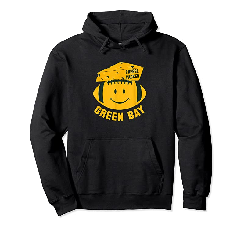 Trending Green Bay Smile Face Football Cheese Head Packer T Shirts