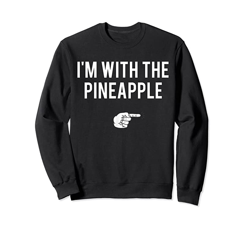 Trending I'm With Pineapple Halloween Costume Funny Couples Pineapple T Shirts
