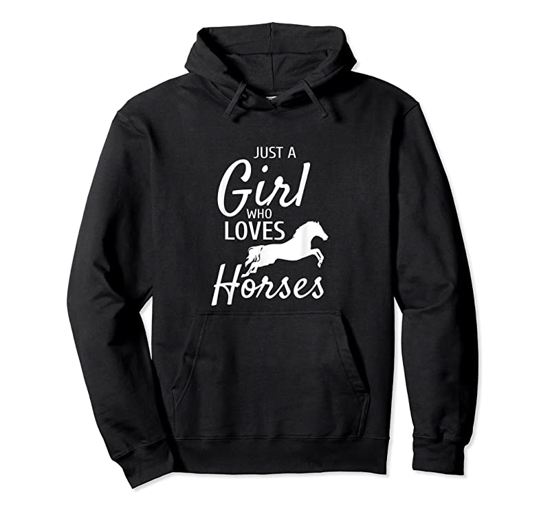 Trending Just A Girl Who Loves Horses Riding Gifts Girls Horse T Shirts