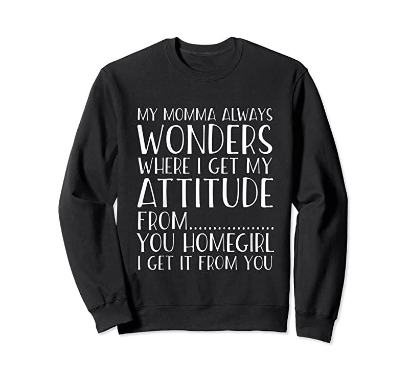 Trending Kids Funny Attitude Got It From My Momma Toddler Kids Tee T Shirts