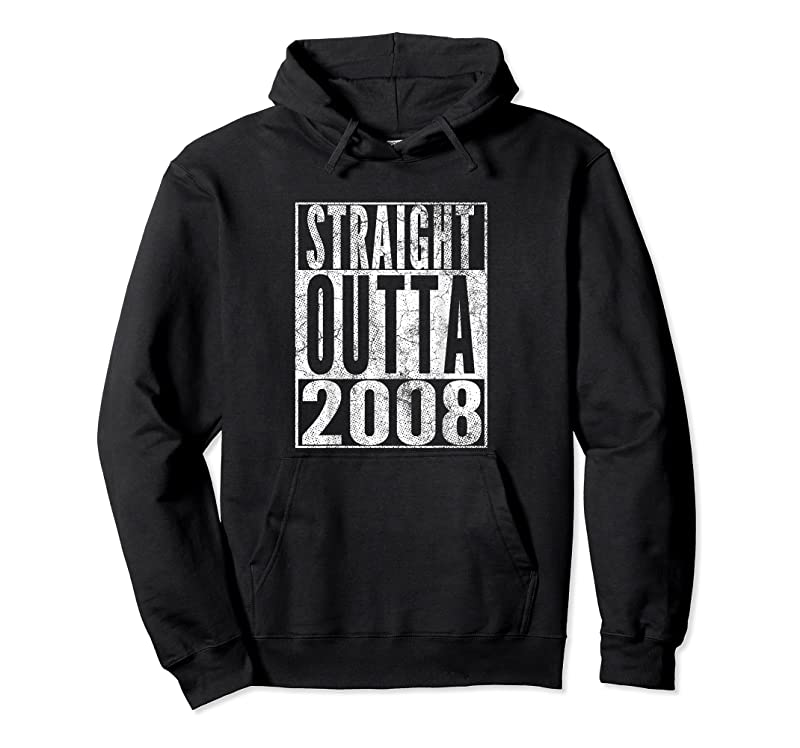 Trending Straight Outta 2008 13th Birthday 13 Years Old Kids T Shirts