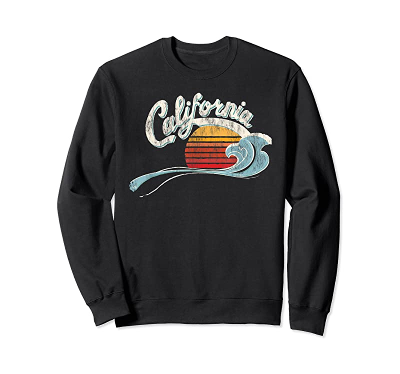 Trending Vintage Surfer 70's Graphic Sunset California T Shirts