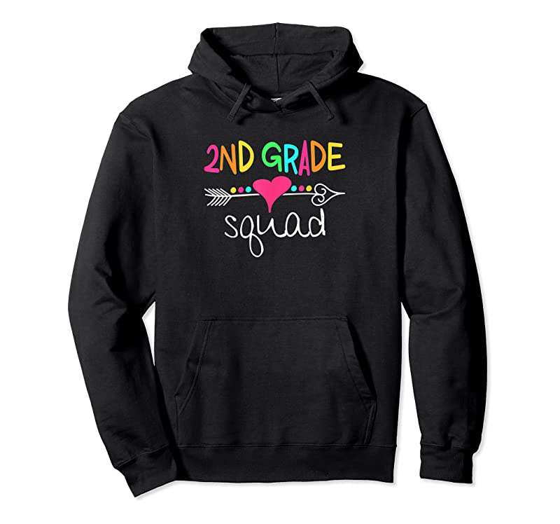 Trends 2nd Grade Squad Second Teacher Student Team Back To School T Shirts