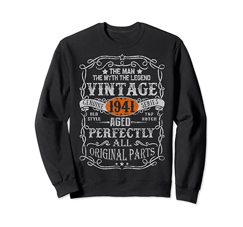 Trends 80 Years Old 1941 Vintage 80th Birthday Gifts Decorations T Shirts