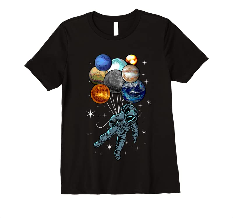 Trends Astronaut Space Spaceman Moon Mars Planets Perfect Gift Idea T Shirts