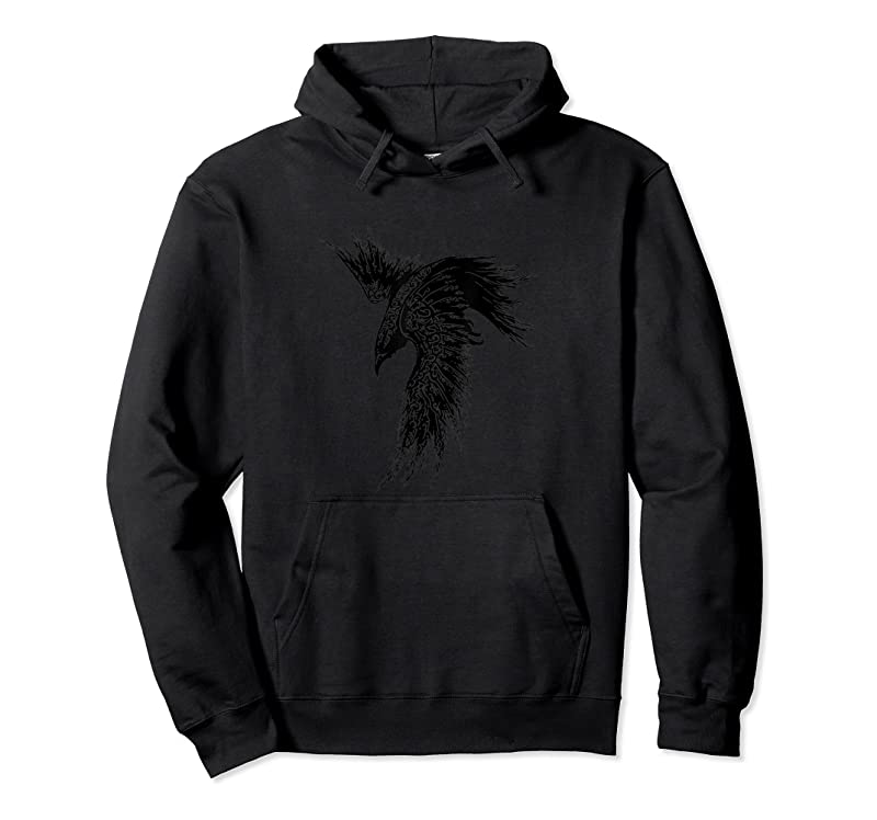 Trends Crow Raven Norse Mythology Viking Gift For Vikings Lover T Shirts