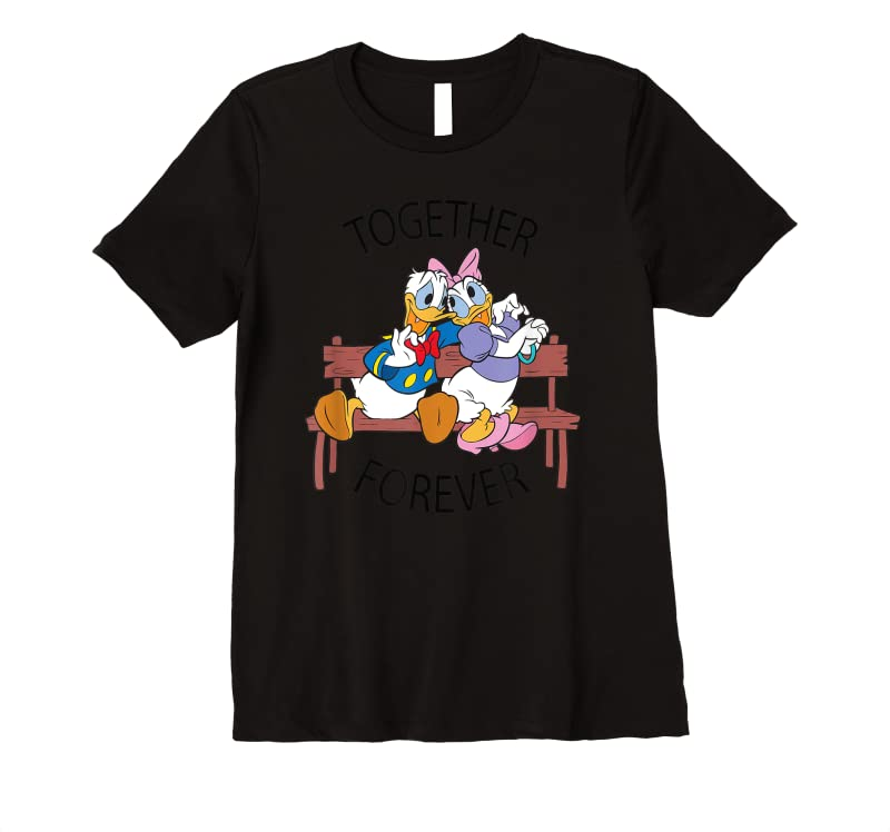 Trends Disney Donald And Daisy Together Forever T Shirts