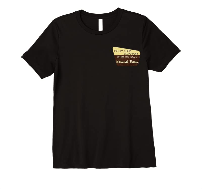 Trends Dolly Copp Campground Centennial T Shirts
