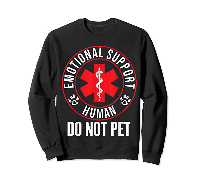 Trends Emotional Support Human Do Not Pet Service Dog Love Humor T Shirts