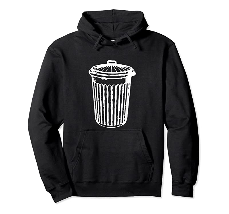 Trends Fun Trash Can Garbage Day T Shirts