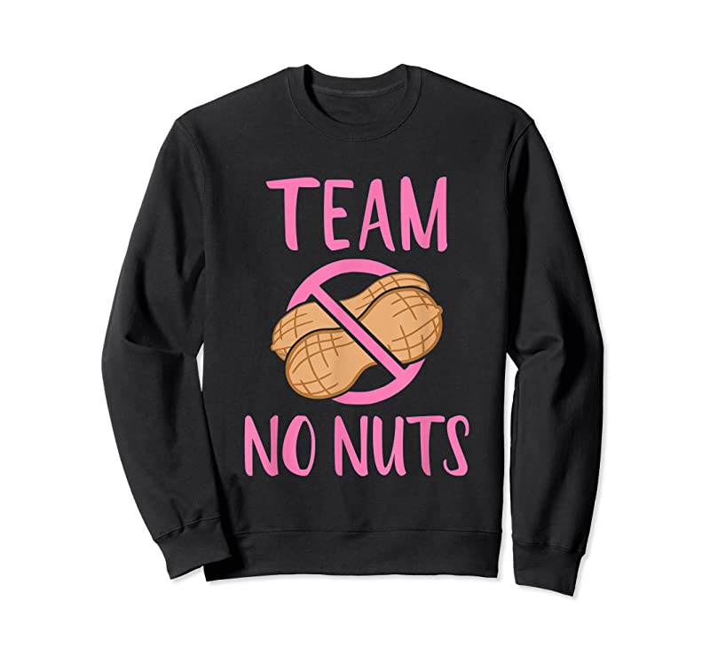Trends Gender Reveal Team No Nuts Girl Matching Family Baby Party T Shirts