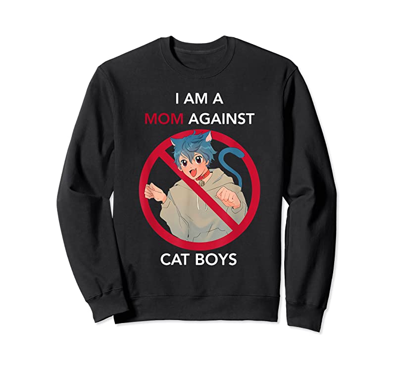 Trends I Am A Mom Against Cat Boys. T Shirts
