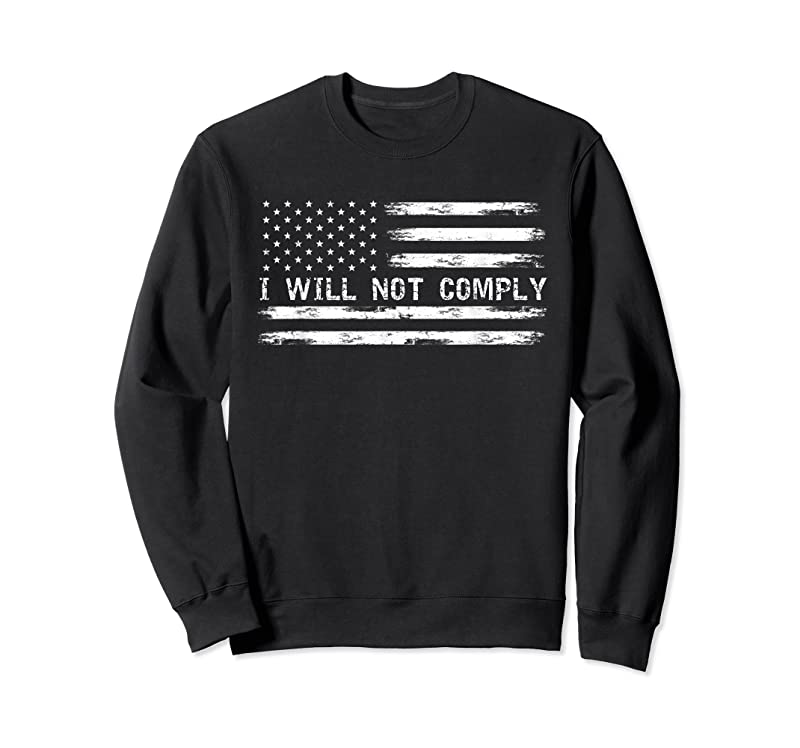 Trends I Will Not Comply T Shirts