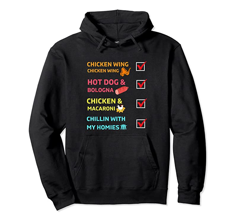 Trends Kids Chicken Wing Chicken Wing Hot Dog And Bologna Toddler T Shirts